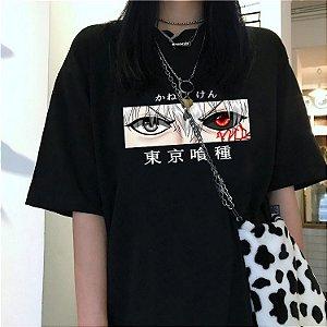 Camiseta TOKYO GHOUL - Olhos do Kaneki Ken