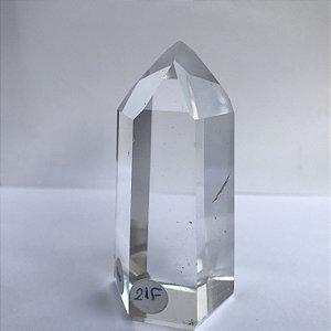 Ponta de Cristal Transparente