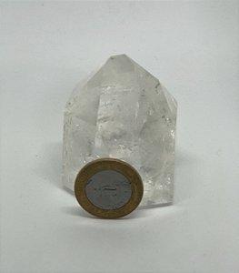 Ponta de Cristal Quartzo - 200g