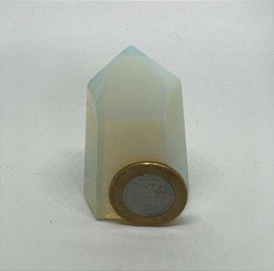 Ponta de Pedra da Lua Opalina - 90g
