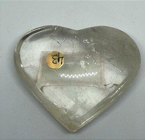 Coração de Quartzo Cristal 290g