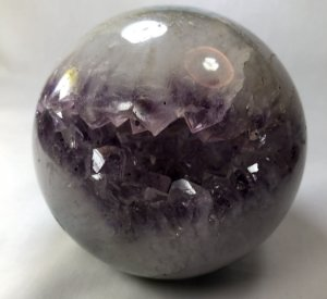 Mega Esfera de Ametista 1,190g (energia gigantesca)