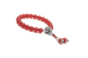 Japamala Pulseira Bracelete Budista Malay Jade