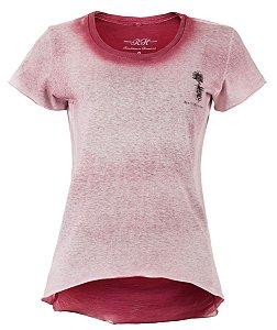 Camiseta Resiliência- Feminina - Vermelha