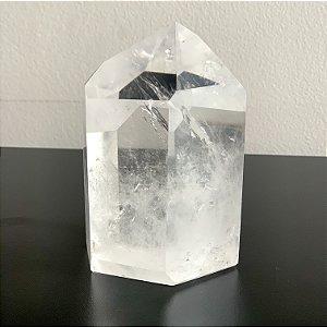Ponta de Cristal Quartzo - 910g