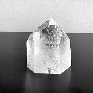 Ponta de Cristal Quartzo - 600 g