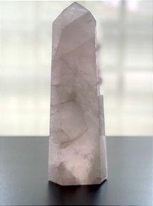 Super Ponta de Quartzo Rosa - 1.690g (fortíssima energia)