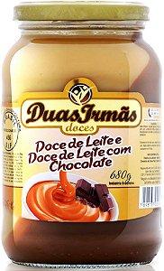 Doce de Leite com Chocolate 680g