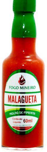 Pimenta Malagueta - Molho 60ml