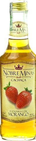 Cachaça de Morango - Nobre Minas 275ml