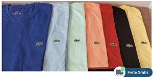 Promoção da Semana - KIT Completo c/ 5 camisetas LAC em cores variadas e com frete grátis!