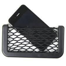 CA-0386 Car String Bag Car Storage Bag (Black)