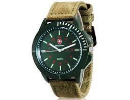 Relogio Military Analog Quartz Wrist Function & Oxford Band (Green)