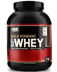 Whey Protein Nutrition Gold Standard 100% Whey Double Rich Chocolate -- 5 lbs  \ 2, 273 kg