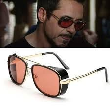 Óculos De Sol Rossi Sungalss Vintage Homem de Ferro 3