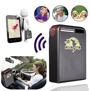 Tracker TK 102 GPS Dispositivo de Rastreamento Online Localizador GPS.