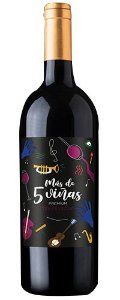 Cinco Vinas Premium Tempranillo 750ml