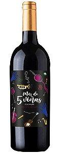 Cinco Vinas Premium Tempranillo 750ml