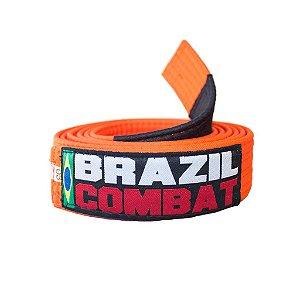 Faixa Jiu-Jitsu Laranja Brazil Combat