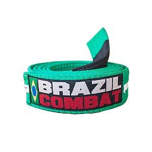 Faixa Jiu-Jitsu Verde com Branco Brazil Combat
