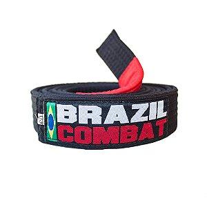 Faixa Jiu-Jitsu Brazil Combat Preta