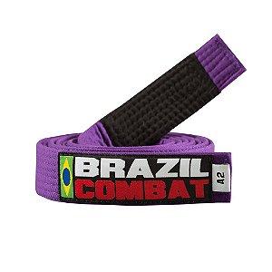 Faixa Jiu-Jitsu Brazil Combat Roxa