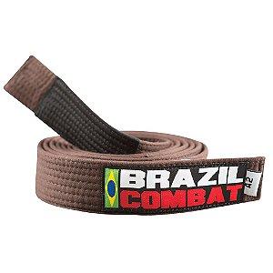 Faixa Jiu-Jitsu Marrom Brazil Combat