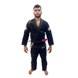 Kimono Jiu-Jitsu BJJ Roots Preto Brazil Combat