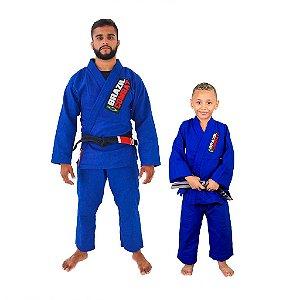 Kit 1 Adulto Starter Azul e 1 Infantil Reforçado Azul