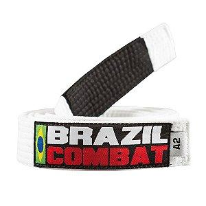 Kit 10 Faixas Brancas Brazil Combat