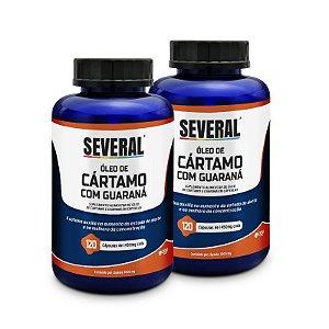 Óleo de Cártamo com Guaraná 1.000mg Several® - 120 cápsulas (LEVE 2 PAGUE 1)