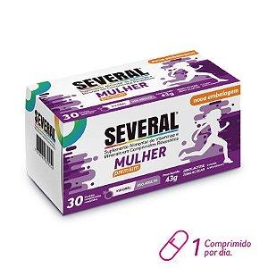 Suplemento Vitamínico e Mineral Mulher Premium Several® - 30 comprimidos revestidos