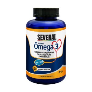 Ômega 3 1000mg Several® - 120 cápsulas