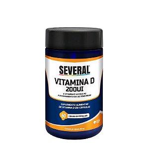 Vitamina D 200UI Several® - 60 cápsulas