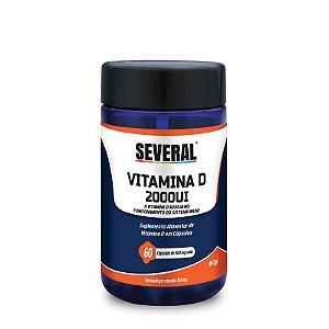 Vitamina D 2000UI 250mg Several® - 60 cápsulas