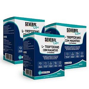 L-Triptofano com Magnésio 1000mg Several® Calm - 60 cápsulas (Leve 3 Pague 2)