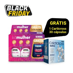 Kit Mulher Several® - GRÁTIS CARTICROSS C/ 30 CÁPSULAS