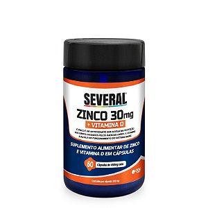 Zinco + Vitamina D Several® - 60 cápsulas