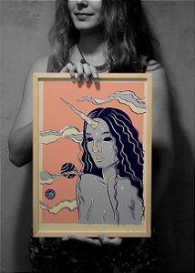 poster unicórnia