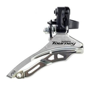Câmbio dianteiro Shimano Tourney FD-TY300 31,8mm 3Vx6/7V