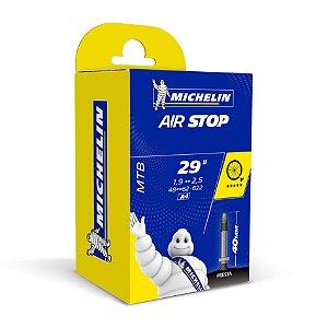 "Camara de ar Michelin MTB 29"" X 1.92.5 Válvula Presta 40mm"