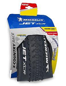 "Pneu Michelin 29"" X 2.25 Jet XCR Competition 3 X 150TPI TR Kevelar"