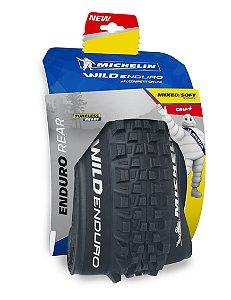 "Pneu Michelin 29"" X 2.40 Wild Enduro Gum-X3D Competition 3 X 33TPI Tras TR"