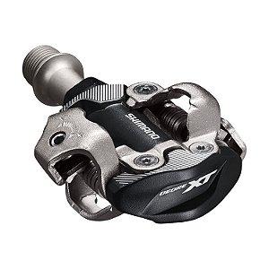 Pedal  Clip Shimano Deore XT PD-M8100 Preto