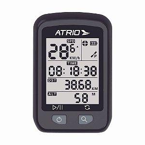 GPS Atrio Iron Ciclismo Resistente à Água Recarregável Preto - BI091