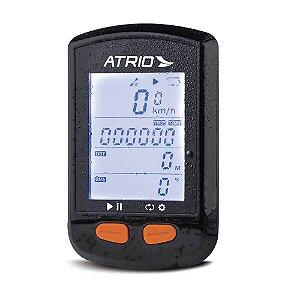 GPS Atrio Steel Ciclismo Resistente à Água Recarregável Preto - BI132 Com Sensor de Cadência