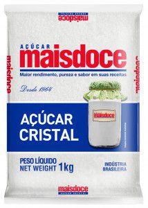 Açúcar cristal Mais Doce 1kg