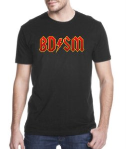 Camiseta BDSM ACDC (vermelho)