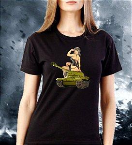 Babylook Tank - Linha Militaria