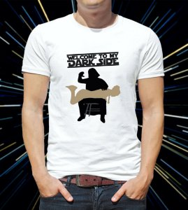 Camiseta/Babylook Welcome To My Dark Side - Star Wars